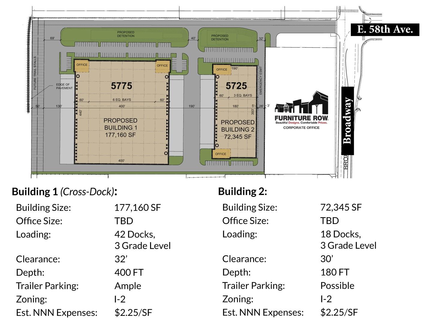 Centercore site plan